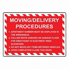 Forgot Apartment Number Shipping Address by Moving Delivery Procedures 1 Apartment Number Sign Nhe 29442