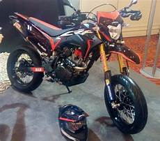 Modifikasi Honda Crf 150 by Modifikasi Honda Crf150l Supermoto Touring Hingga Balap