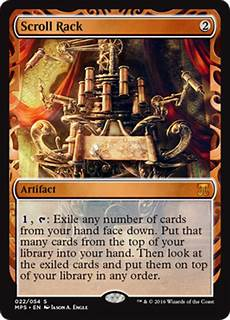 Scroll Rack Masterpiece scroll rack masterpiece series kaladesh inventions magic