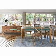 sala da pranzo tavolo per sala da pranzo in legno riciclato effetto