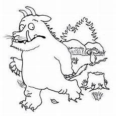 Malvorlagen Wolf Hill Gruffelo 2 Malen Pinte