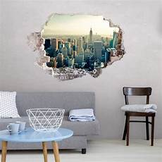 3d wandtattoo skyline new york city wandtattoo