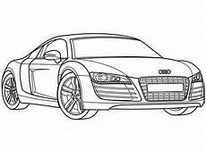 Malvorlagen Autos Zum Ausdrucken Handy Ausmalbilder Audi R8 Auto Zeichnungen Ausmalbilder