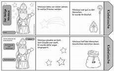 leporello zum heiligen nikolaus bereits im letzten jahr