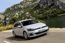 2017 Volkswagen E Golf And Golf Gte Stand Side By Side To
