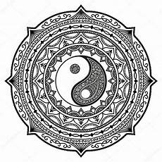 yin yang mandala coloring pages part 4 free resource