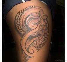 tribal blumen tattoo 53 classic tribal tattoos on thigh