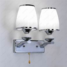 6w 10w led wall sconces l fixture pull switch n light bulb lobby bedroom cafe ebay