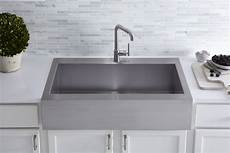 kohler vault top mount single bowl stainless steel kitchen