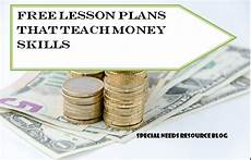 money worksheets for learning disabilities 2219 free lesson plans that teach money skills special needs resource and