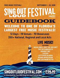Sing Out Loud Festival 2018 By Folio Weekly Issuu