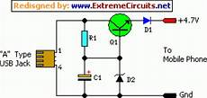 Wireles Usb Schematic Diagram by Usb Powered Mobile Phone Battery Charger Eeweb Community