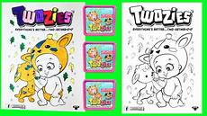 twozies coloring pages surprise toys blind bags baby pet crayola markers littlewishes youtube