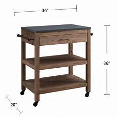 stylish freestanding kitchen islands carts in 2020 huneycutt rolling kitchen cart granite top kitchen island