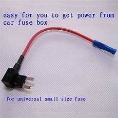 fuse box tap free shipping fuse holder for safe and easy refitting car fuse cable adapter fuse tap get power