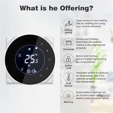 Moeshouse 6000 Wifi Smart Thermostat Water by Moeshouse Bht 6000 Gclw Water Gas Boiler Thermostat