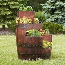Deko Ideen Gartendeko Aus Holz Weinfass 18 Kreative