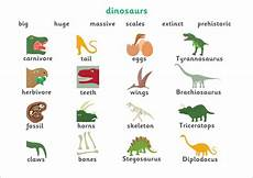 dinosaur adjectives worksheets 15276 early learning resources dinosaur word mat
