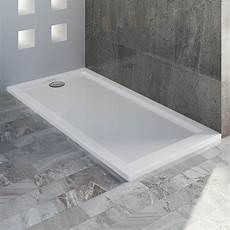 receveur plateau bac 80x140 cm blanc acrylique