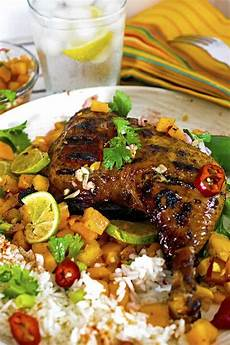 jerk chicken tastes great with a chunky salsa recipe