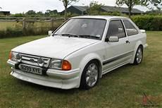 Ford Rs Turbo S1 Custom 76 000 White Lightning