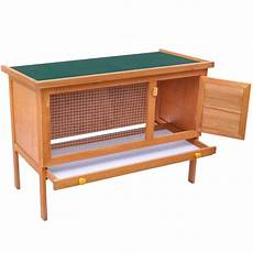 outdoor rabbit hutch small animal house pet cage 1 layer