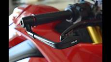 ducati v4 install rizoma brake lever protection