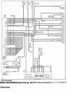 1997 chevy schematics solved diagram of stereo wiring in a 1997 chevy s 10 fixya