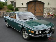 1971 Bmw 2800 Cs Agave Excellent Quality Three Owner Car