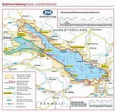 Bodensee Radweg Adfc Radreisef 252 Hrer Fahrradkarte
