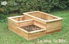 carr 233 potager en bois de palette square planter made of