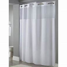 hookless mystery shower curtain hookless mystery 300d 71 x 77 fabric shower curtain