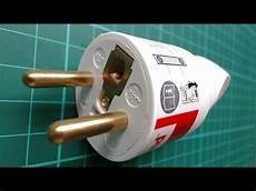 how to wire a electric plug cee 7 6 youtube