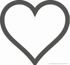 Vorlagen Herzen Malvorlagen Einfach Vorlage Herz Zum Ausdrucken
