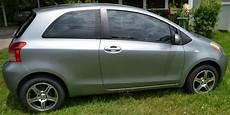 sell used 2007 toyota yaris silver 2 door hatchback window