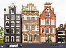 Traditional Buildings Amsterdam Image