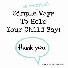 ways to say thank you to on your trust me i m a simple creative ways to help your