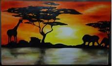peinture couleur chaud pin tableau design peinture moderne peintures par