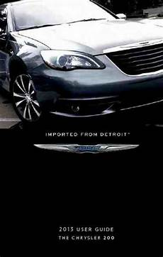 free online auto service manuals 2012 chrysler 200 interior lighting chrysler 200 2013 vehicles download manual for free now 37db3 u manual com