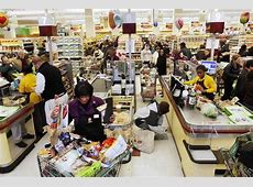 are grocery stores open today