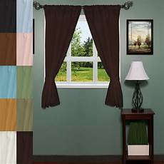 Bathroom Window Curtains by Classic Hotel Quality 36 Quot W X 54 Quot L Fabric Bathroom Window