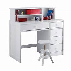 Gaby Solid Pine Child S Desk Top Extender White La