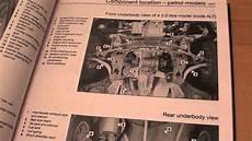 free online auto service manuals 1997 volkswagen passat security system vw passat haynes repair manual youtube