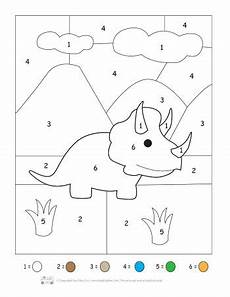 dinosaurs coloring by numbers worksheets 15350 dinosaur printable preschool and kindergarten pack itsy bitsy