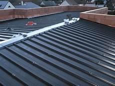 panneaux sandwich toiture bac acier contemporaine cubique toit plat en rt2012 st denis de l