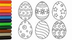 coloring pages easter eggs coloring for