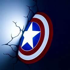 captain america shield 3d deco light energy efficient captain america shield 3d deco light energy efficient wall light menkind