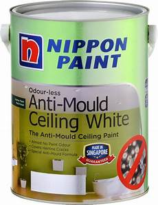 nippon paint odourless anti mould ceiling white 1l