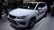 seat ateca weiß 2018 seat ateca fr exterior and interior automobile