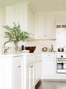 White Kitchen Tile Backsplash Ideas 20 Sleek And Serene All White Kitchen Design Ideas To